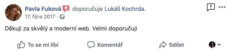 Recenze Pavla Fuková