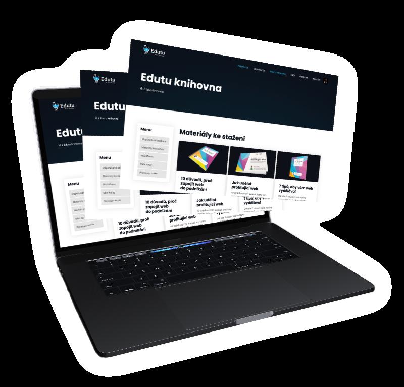 Online vzdělávací platforma Edutu